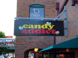 Candy Addict Sign By Davis Signs